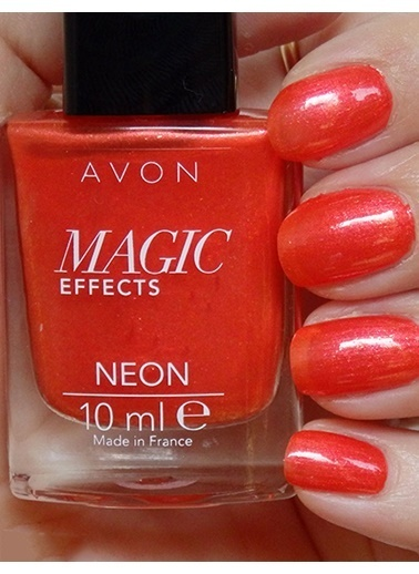 Avon Magic Effect  Neon Orange Blaze 10 Ml Oranj